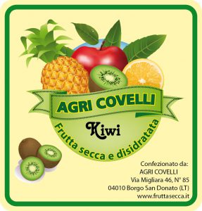 Kiwi disidratato - Frutta secca Agri Covelli