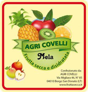 Mela disidratata - Frutta secca Agri Covelli